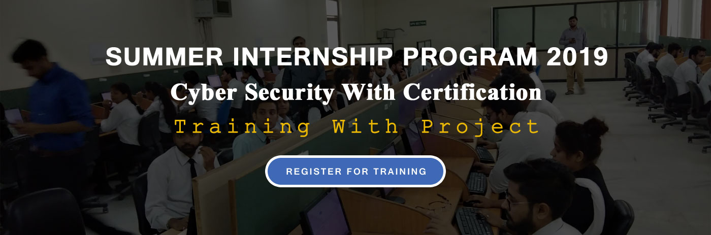 Summer Internship Training